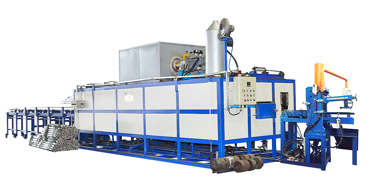 semi-automatic hot log shear furnace