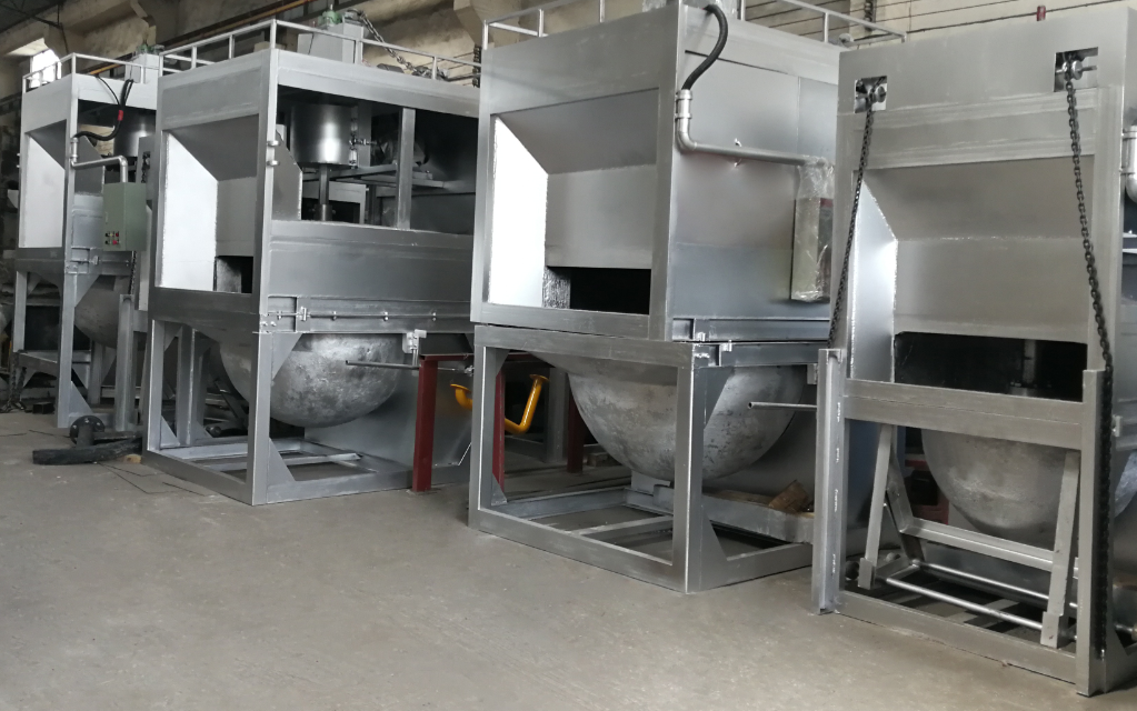 Aluminum Dross Recycling Equipment for Melting Furnace